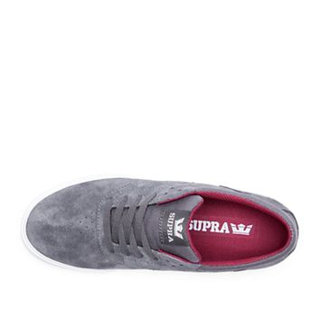 PHOENIX in CHARCOAL - WHITE | SUPRA Footwear