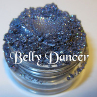 Belly Dancer Blue Purple Glitter Sparkle Natural Mineral Eyeshadow Mica Pigment 5 Grams Lumikki Cosmetics