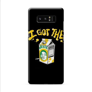 Acid Rap Juice Samsung Galaxy Note 8 case