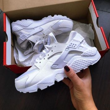 Nike Drops the Air Huarache Ultra Sports shoes White