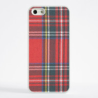 iPhone 6 Case, iPhone 6 Plus Case, iPhone 5S Case, iPhone 5 Case, iPhone 5C Case, iPhone 4S Case, iPhone 4 Case - Red Check