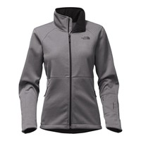 Women's Apex Risor Jacket in TNF Medium Grey Heather by The North Face