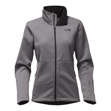 Women's Apex Risor Jacket in TNF Medium Grey Heather by The North Face - FINAL SALE