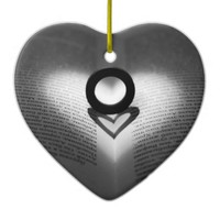 Love Ring and Shadow Heart Ornament