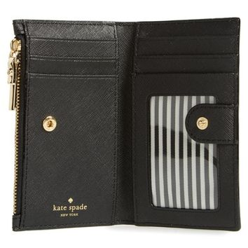 kate spade new york cameron street - mikey leather wallet | Nordstrom