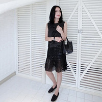 black skirt/short black skirt/high waist black skirt/sheer black skirt/black skirts/black midi skirt/midi skirt/high waisted midi skirt/mod