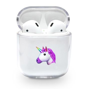 Unicorn Emoji Airpods Case