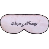 "Silk Satin Sleep Mask ""Sleeping Beauty"""