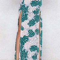 Palm Inside the Storm Maxi Skirt