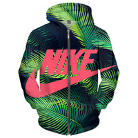 NIKE tropical ZIP UP JACKET