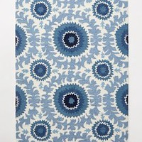 Sun Blossoms Rug by Anthropologie