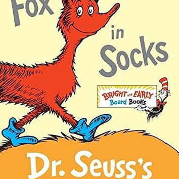 Fox in Socks - Dr. Seuss Book