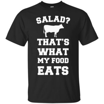 Salad That's What My Food Eats Cow T-Shirt