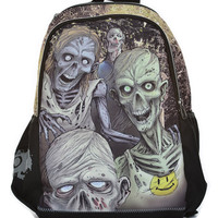 Mojo Glow In The Dark Zombies Rucksack | Gothic Clothing | Emo clothing | Alternative clothing | Punk clothing - Chaotic Clothing