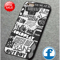 mayday parade,fall out boy,nirvana for iphone, ipod, samsung galaxy, HTC and Nexus Phone Case