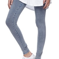 acid wash legging