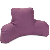 Lilac Reading Pillow