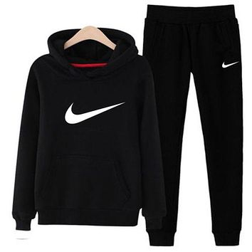 NIKE Womens Sportswear Two Pieces Hooded Top Hoodies and Pants