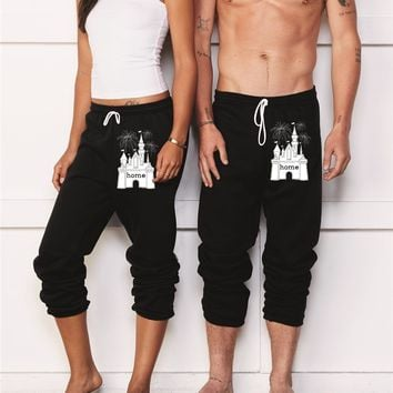 That Magical Castle Is My Home Fireworks Sweatpants