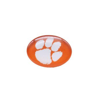 Snap Button 18mmX25mm NCAA Clemson Tigers Charms Interchangeable Buttons Bracelet Football Fans Gift Paty Birthday Fashion 2017