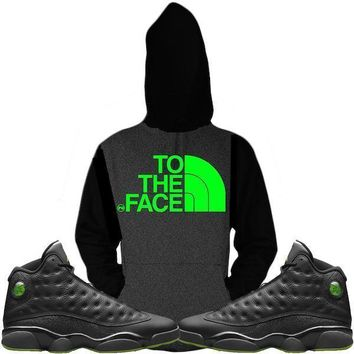 Jordan 13 Altitude Sneaker Hoodie to Match - TO THE FACE