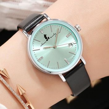 New Fashion Watches Women Top Brand Luxury Famous Quartz Wrist Watches for Woman Calendar Date Ladies Dress Watch Female Hodinky