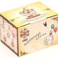 Sentimental Circus cup with towel carousel carnival - Cups-Mugs - Bento Boxes
