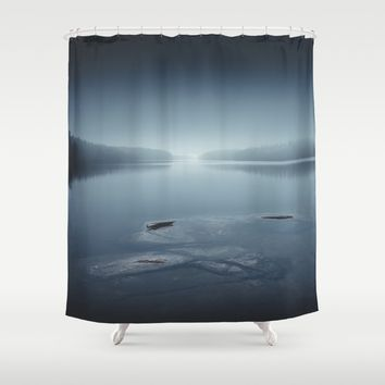 I can´t sleep Shower Curtain by HappyMelvin