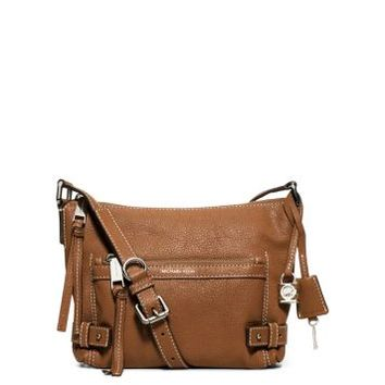 Abby Medium Leather Messenger | Michael Kors