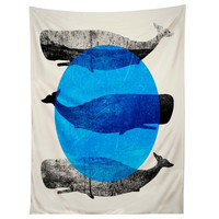 Elisabeth Fredriksson Whales Tapestry
