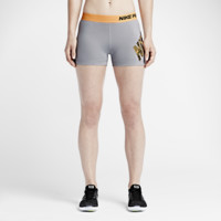 "Nike Pro Logo 3"" Women's Training Shorts"