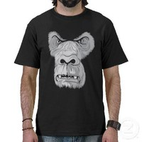Mad Gorilla T-Shirt from Zazzle.com
