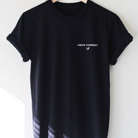 Check Yourself Tee