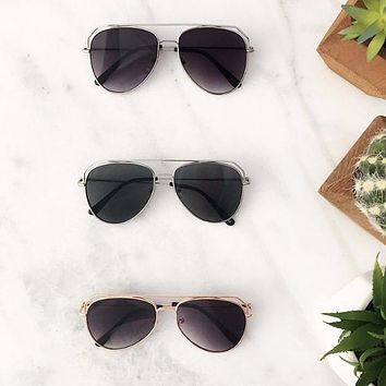 Fashion aviators sunglasses Sunnies Collection
