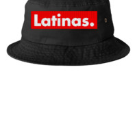 latinas embroidery hat  - Bucket Hat