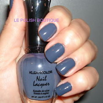 KLEANCOLOR NAIL POLISH~LACQUER ~ CONCRETE GRAY 101 ~ STUNNING NEW!