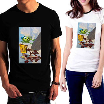 monster inc and looney tunes - Tshirt for man shirt, woman shirt XS / S / M / L / XL / 2XL / 3XL /4XL / 5XL *02*