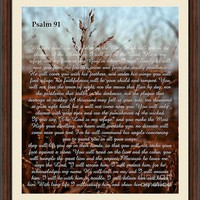 Psalm 91 #classic by Andrea Anderegg Photography