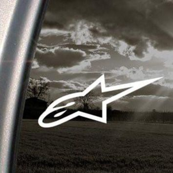 Alpinestars Decal Alpine Star Truck Car Window Sticker