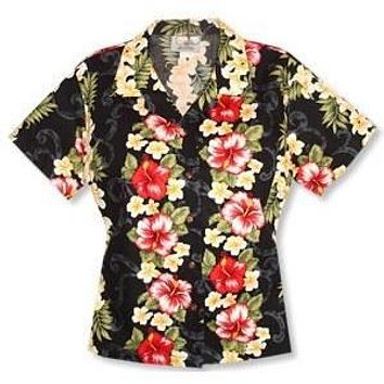 blackmist hawaiian lady blouse