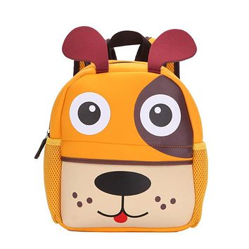 Winmax Factory Girls 3D Animal High Quality Waterproof Backpack Kids School Bags for Boys Cartoon Shaped Children Backpack Bags