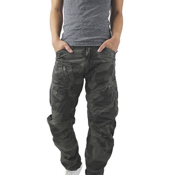 G-Star Raw LA Powel Arc Loose Tapered Authentic Camo