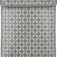 Alaïa | Perforated petal-design leather iPad case | NET-A-PORTER.COM