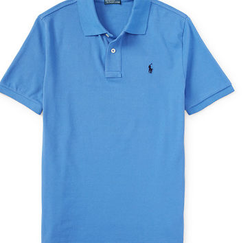 SOLID BASIC MESH POLO