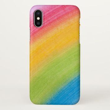 Claire Blossom Rainbow iPhone X Case