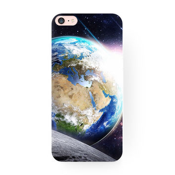 Blue Earth Planet Creative Original Hard Case Cover for iPhone 6 7 7 Plus