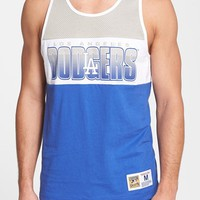 Men's Mitchell & Ness 'Los Angeles Dodgers - Home Stand' Tank Top,