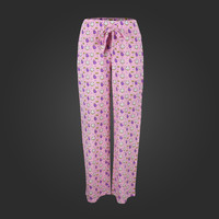 Welovefine:PuppyCat Eggplant Lounge Pants