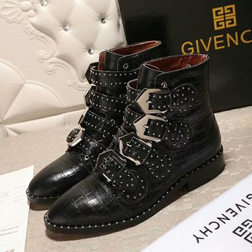 Givenchy Women Fashion Casual Punk Boots Shoes-6