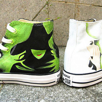Wicked shoes Converse Sneakers Canvas Sneakers converse shoes sneakers leisure shoes hand painted shoes Anime Shoes for Men/Women